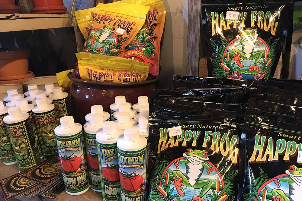 Plant Food And Fertilizer At Nashville Garden Center