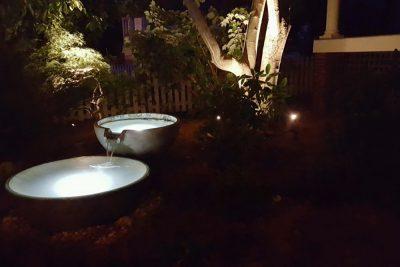 Spillway Bowl At Night