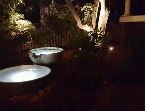 Adding Lighting to Your Backyard Waterfall or Pond