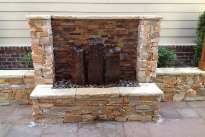Triple Basalt Fountain
