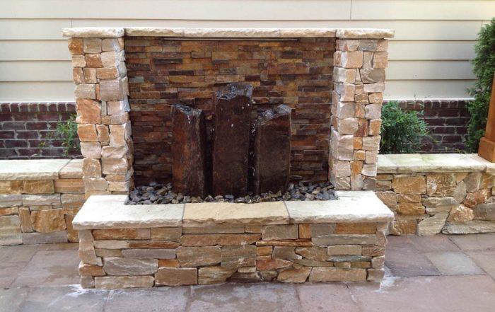 Triple Basalt Fountain