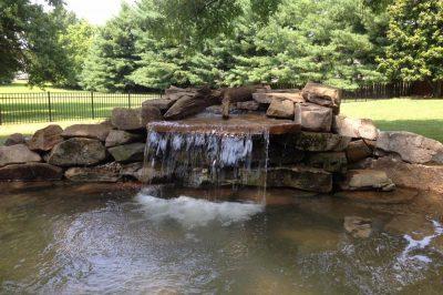 Waterfall Into Pond Nashville