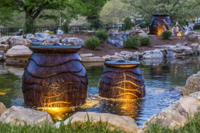 Urn In Recreation Pond - Brentwood, TN