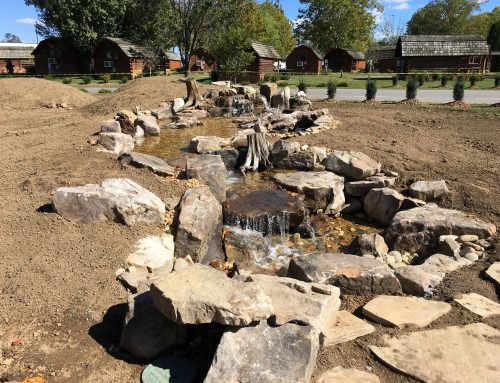 Pondless Water Feature Construction in Nashville