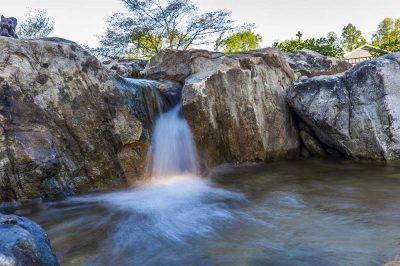 Large Waterfall in Recreation Pond - Brentwood, TN