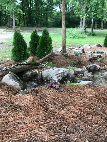 Pondless Water Feature in Madison