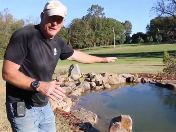Building A Large Pond For Homeowners To Love In Nashville