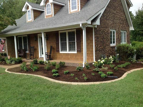Wonderful new landscaping project in Donelson