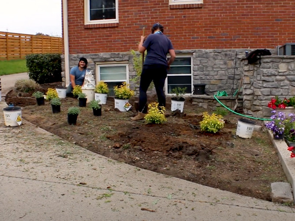 A Landscape Transformation In Donelson Creates Amazing Curb Appeal